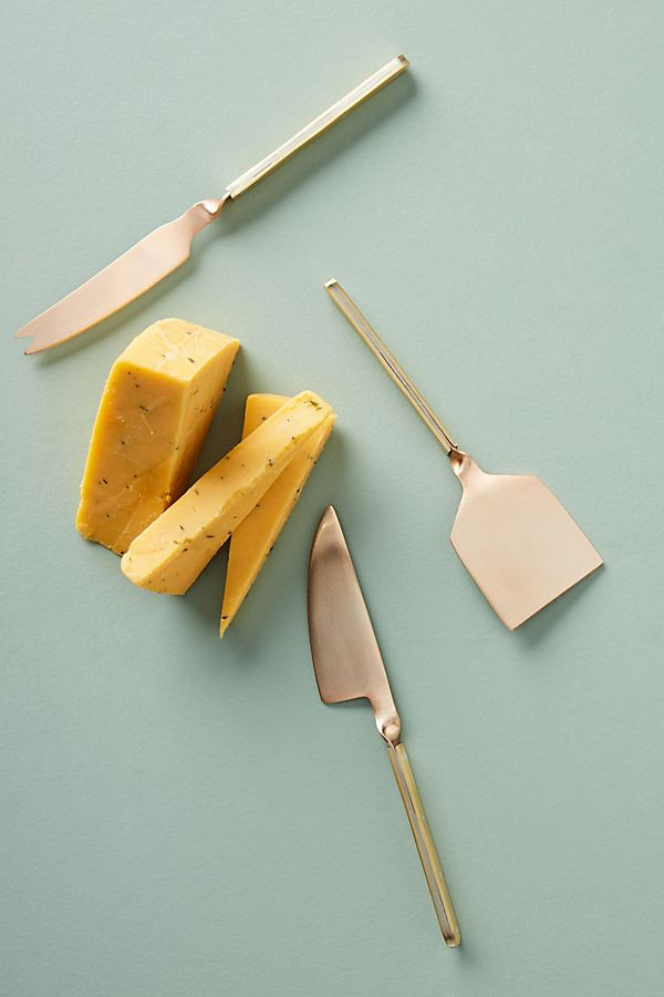 Hettie Cheese Knives, Set of 3 $38.00