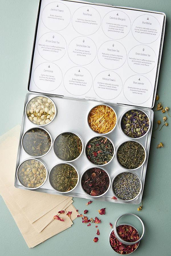 Purpose Design Herbal & Green Tea Gift Set $35.00