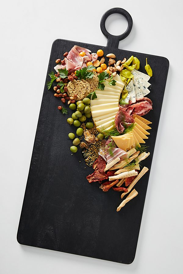 Matte Black Cheese Board $98.00