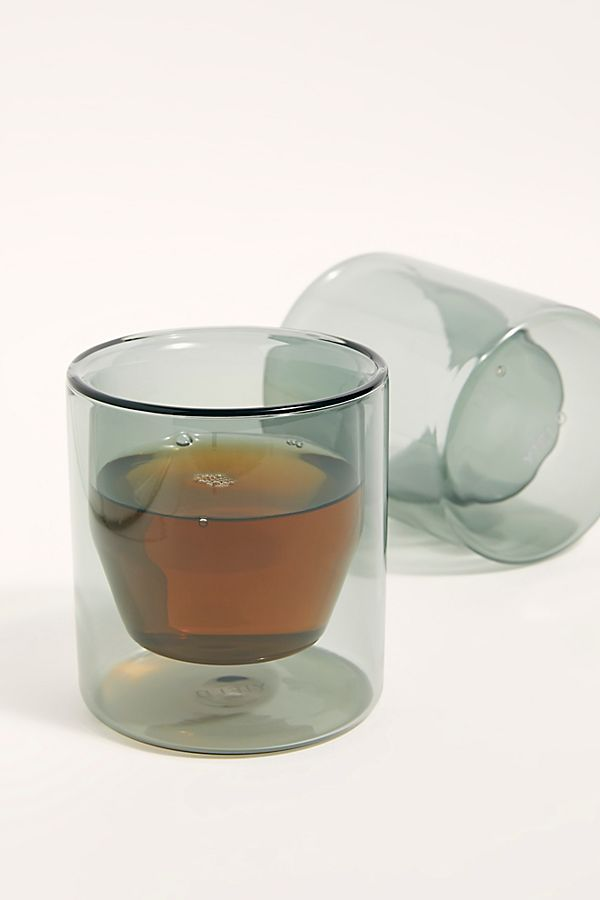 YIELD Double Wall 6oz Glasses $50.00