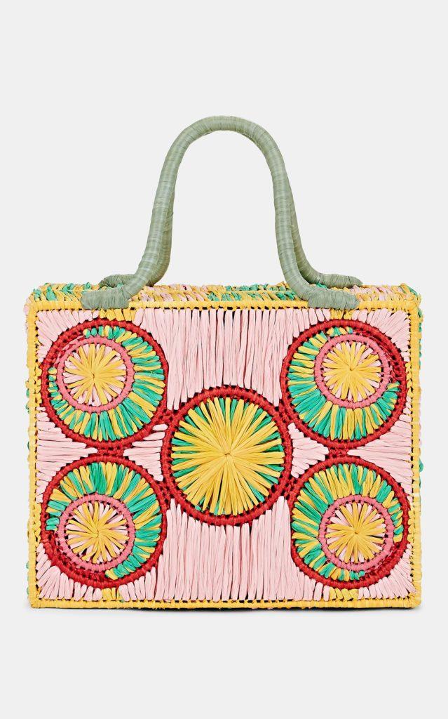 SOPHIE ANDERSON Caba Raffia Tote Bag $445