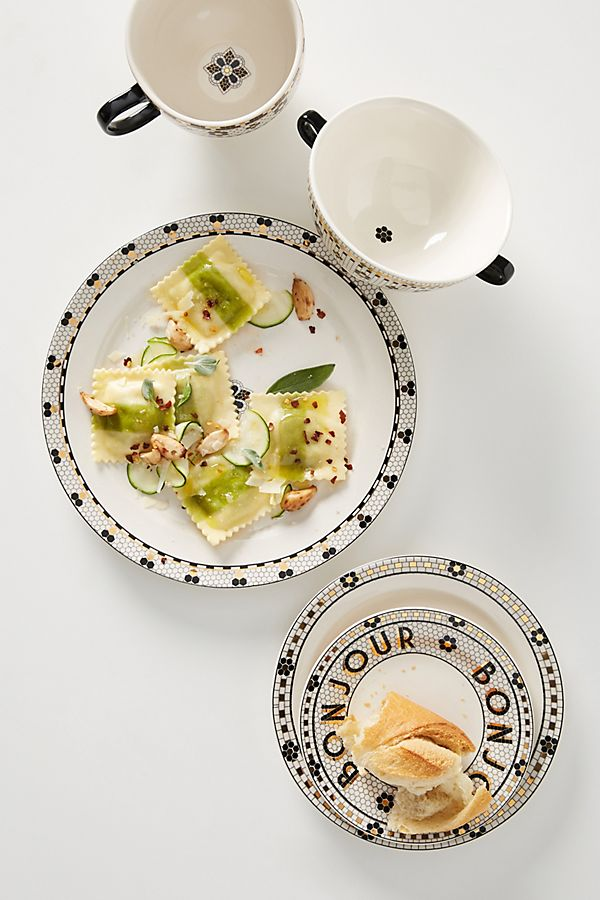 Bistro Tile Dinner Plates, Set of 4 $96.00La Vie French Style