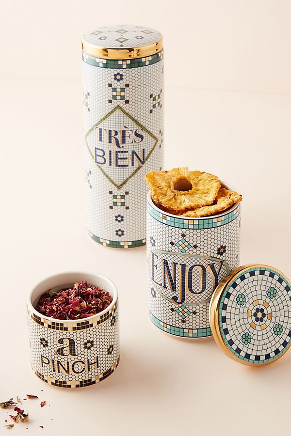 A Pinch Tile Bistro Spice Jar $18.00
