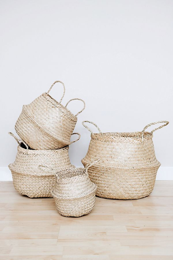 Connected Goods Billie Belly Basket $20.00–$35.00