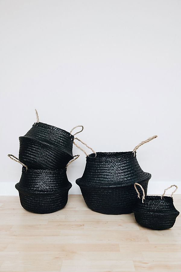 Connected Goods Coal Belly Basket $20.00–$35.00