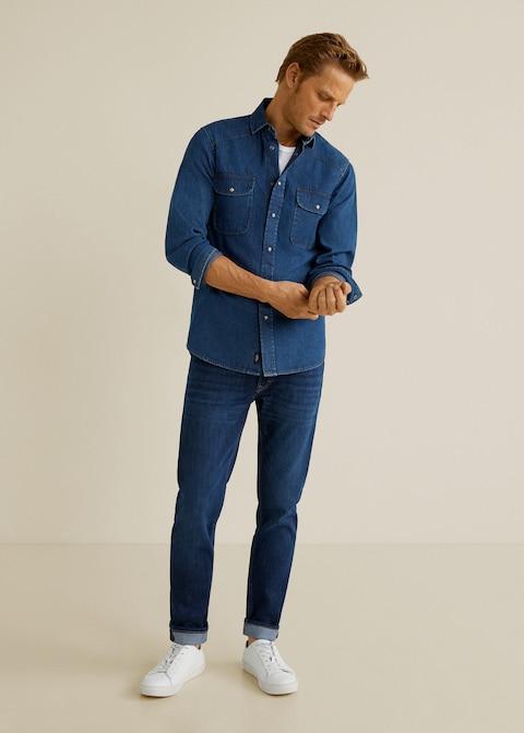 Slim fit dark wash Jan jeans $49.99