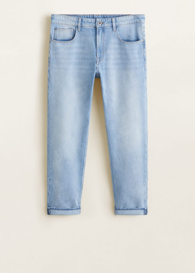 Tapered fit soft jeans $69.99