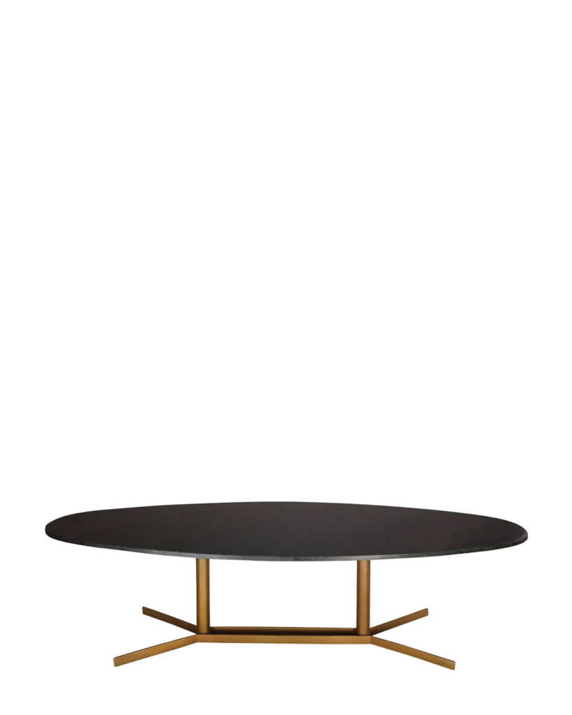 Black Gemma Marble Cocktail Table $379.99