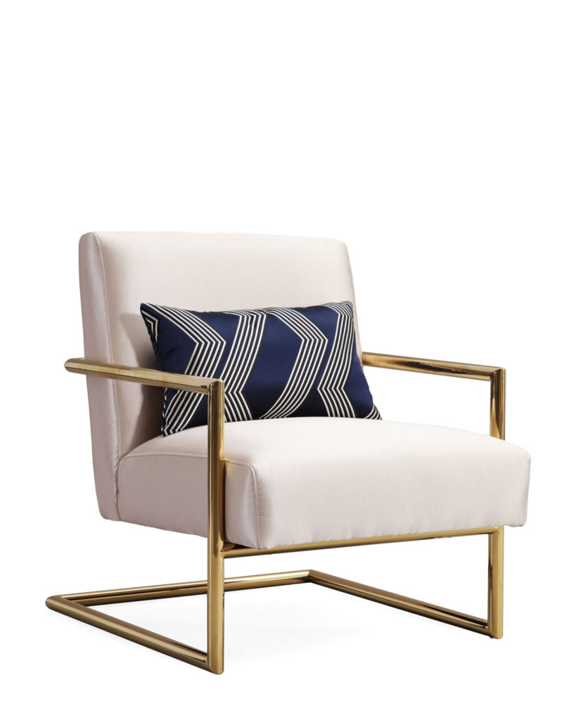 Beige Elle Linen Chair $479.99