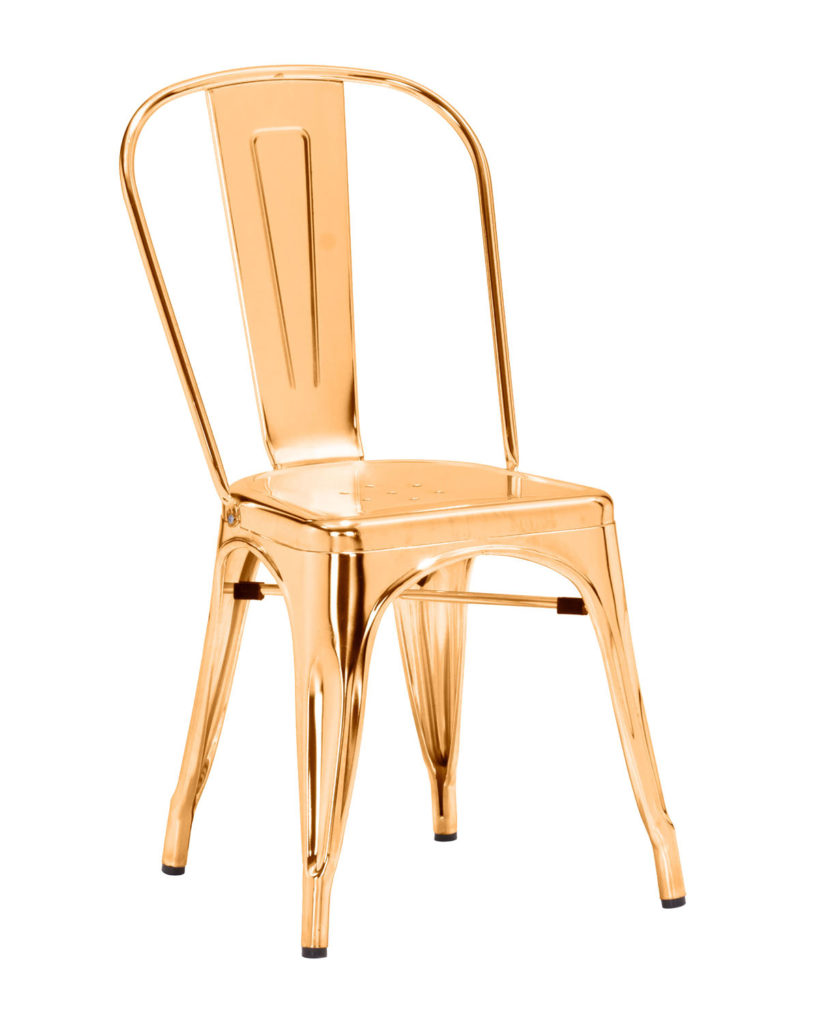 Elio Gold Dining Chair $269.99