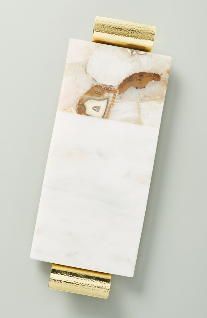 Morgan Agate & Marble Cheese Board ANTHROPOLOGIE $108.00