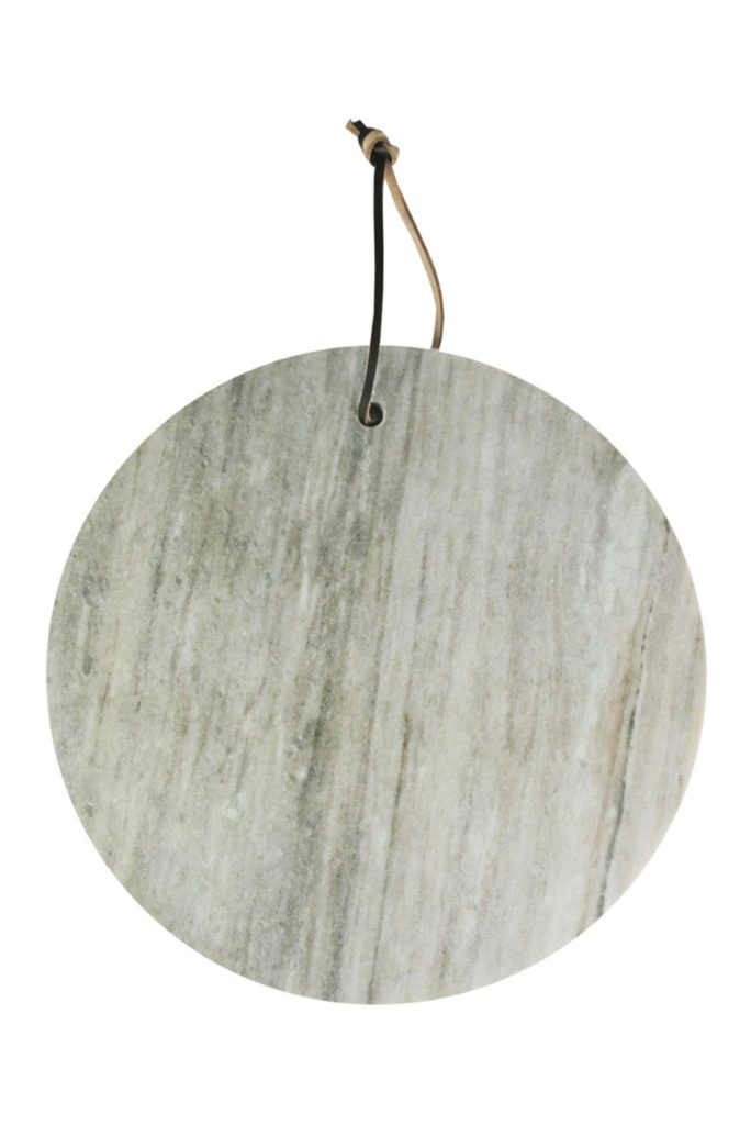 Beige Marble Round Cutting Board $19.97