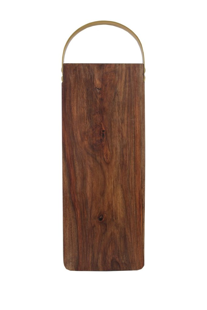 Natural Gold & Dark Wood Board $22.48