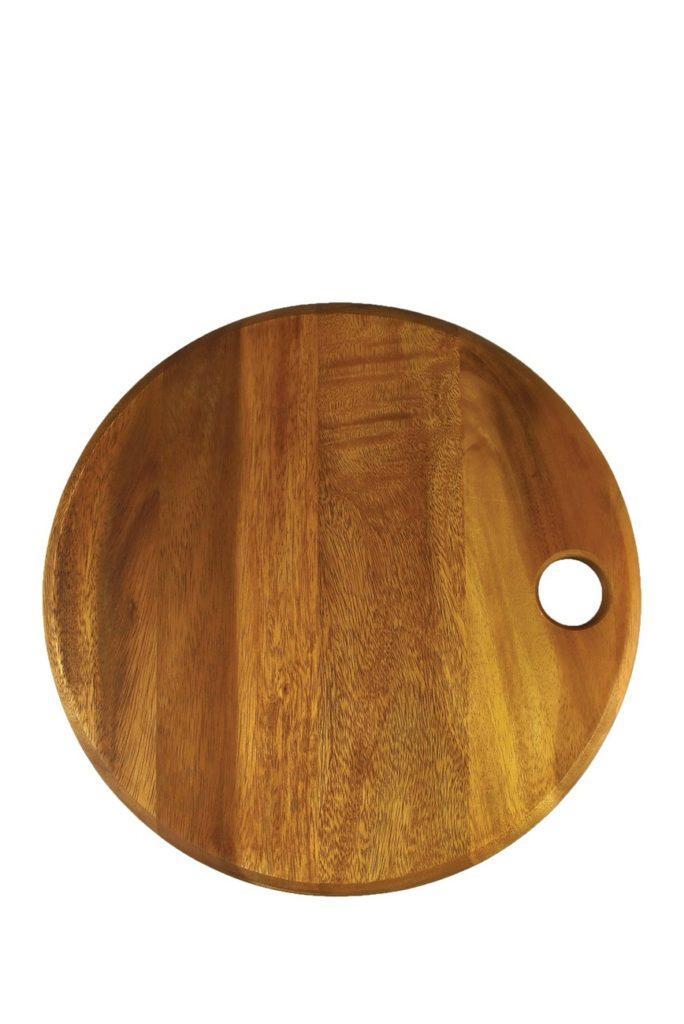 Natural Acacia Round Board $22.48