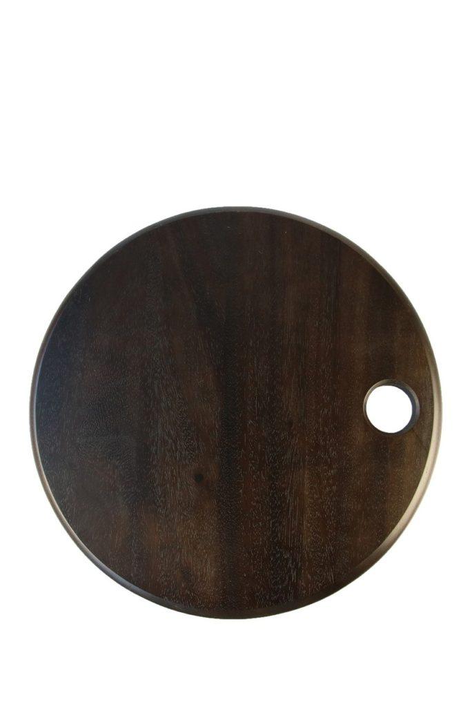 Dark Stain Acacia Round Board $26.97