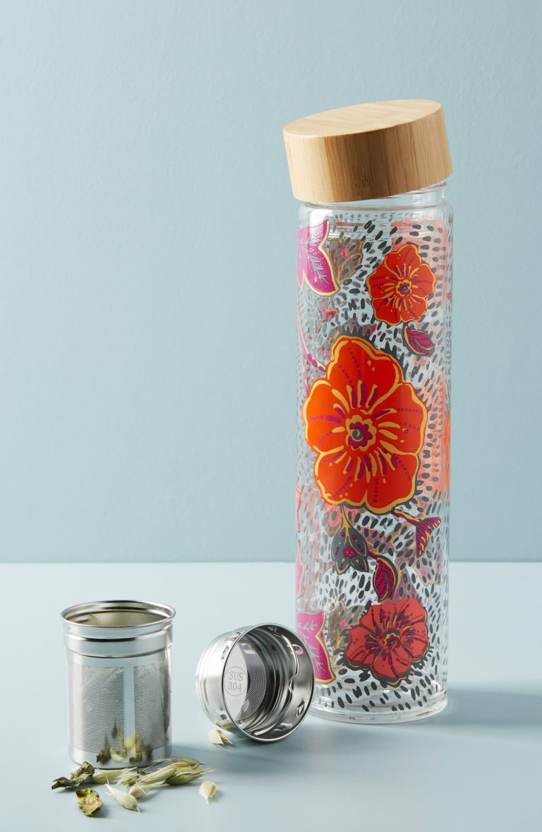 Floral Tea Infuser ANTHROPOLOGIE $28.00