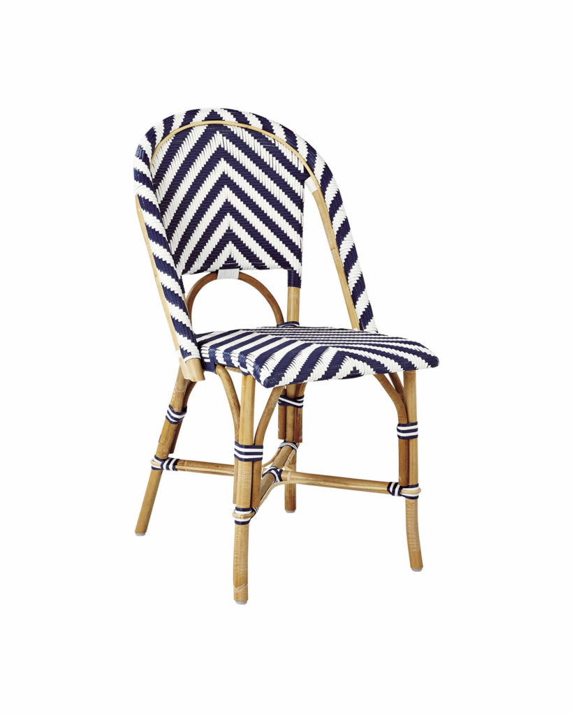 Chevron Riviera Side Chair $238.00