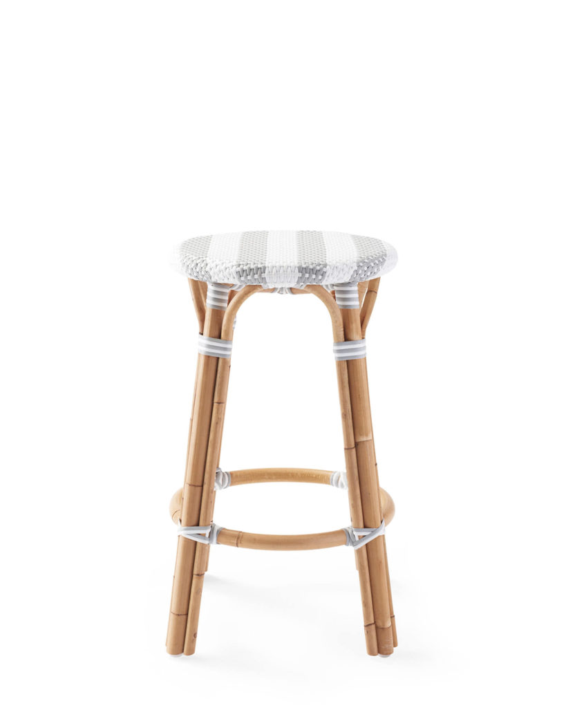 Riviera Backless Counter Stool - Striped $238.00