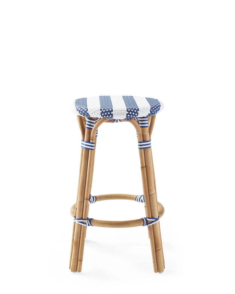 Riviera Backless Counter Stool - Striped $238.00https://fave.co/2NXzg5o