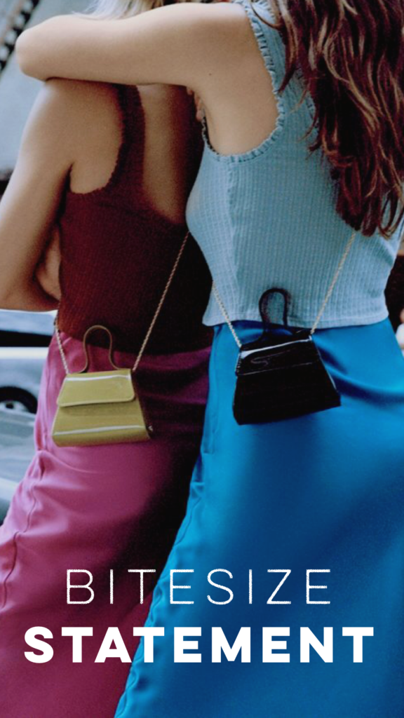 MINI HANDBAG ARE MAKING A BIG STATEMENT