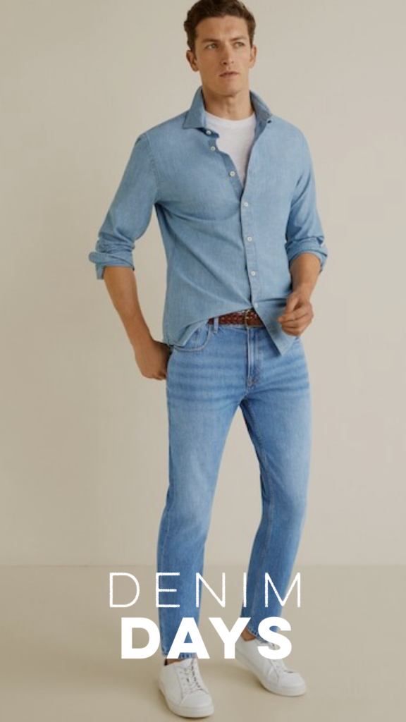 GENTS ARE FEELIN THE BLUES WITH DENIM ON DENIM