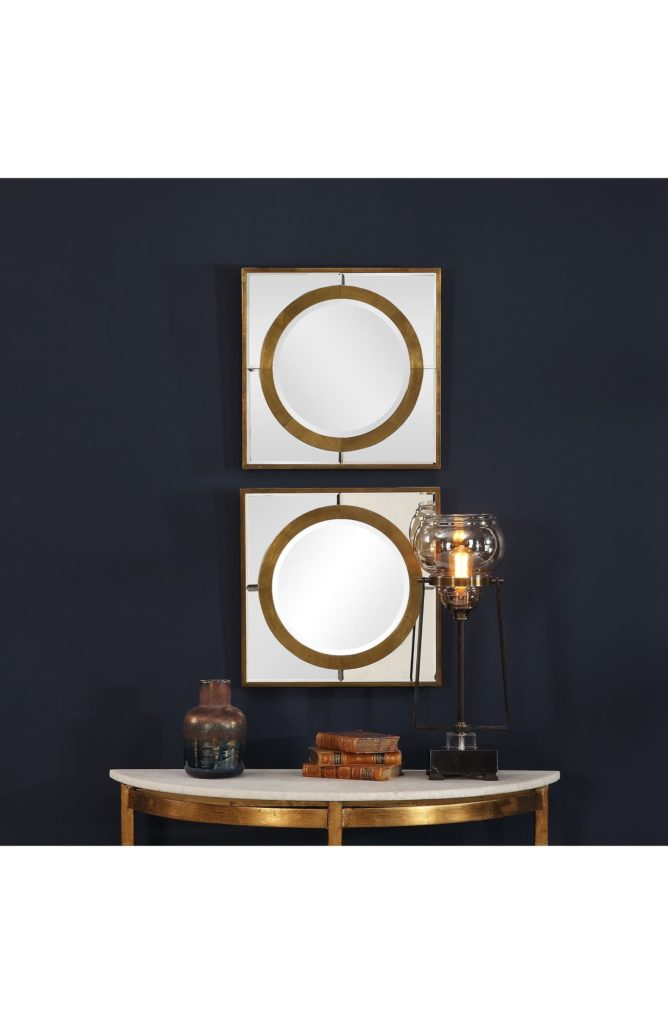 Gaza Set of 2 Mirrors UTTERMOST $271.00