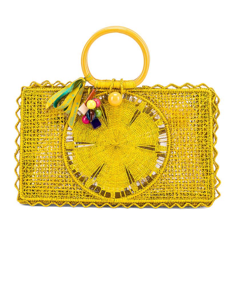 SILVIA TCHERASSI For Fwrd Riomar Keychain Bag $490
