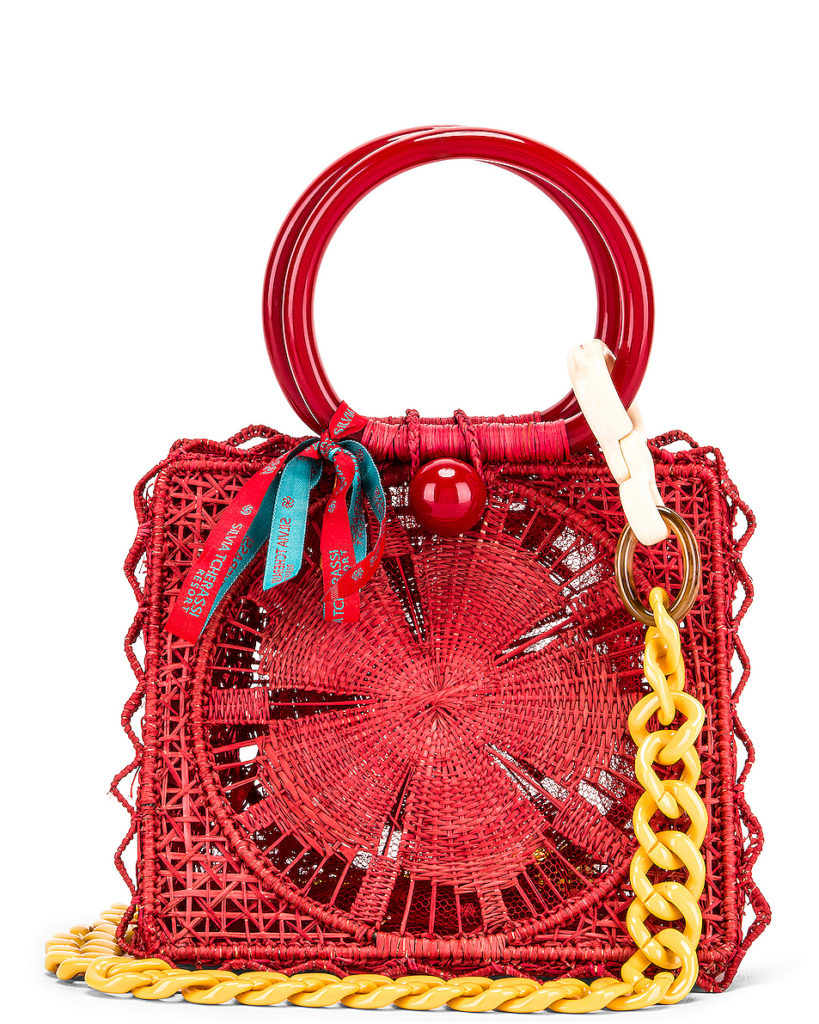 SILVIA TCHERASSI Camile Bag With Chain Strap $580.00