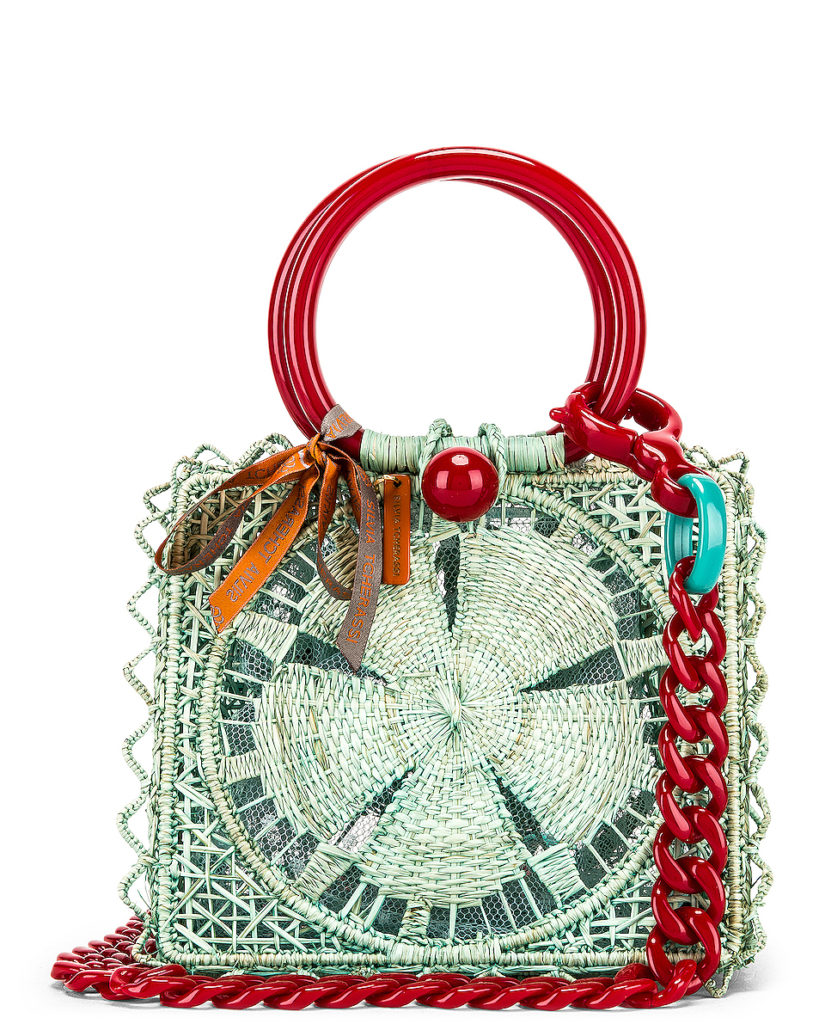 SILVIA TCHERASSI Camile Bag With Chain Strap $580