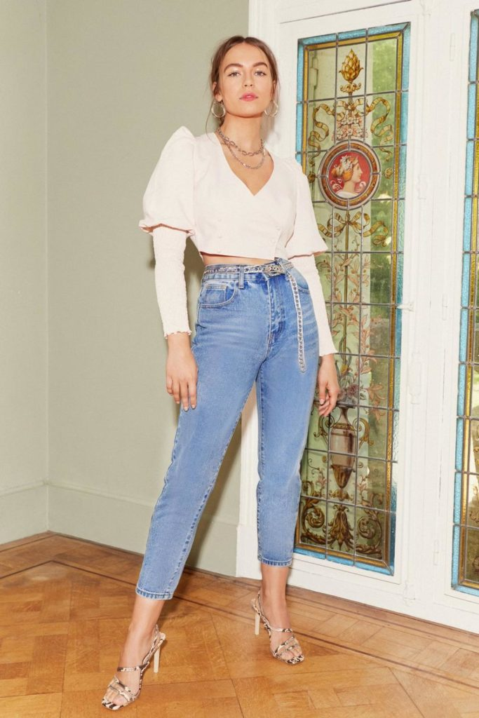 Debbie High-Waisted Mom Jeans $24.00