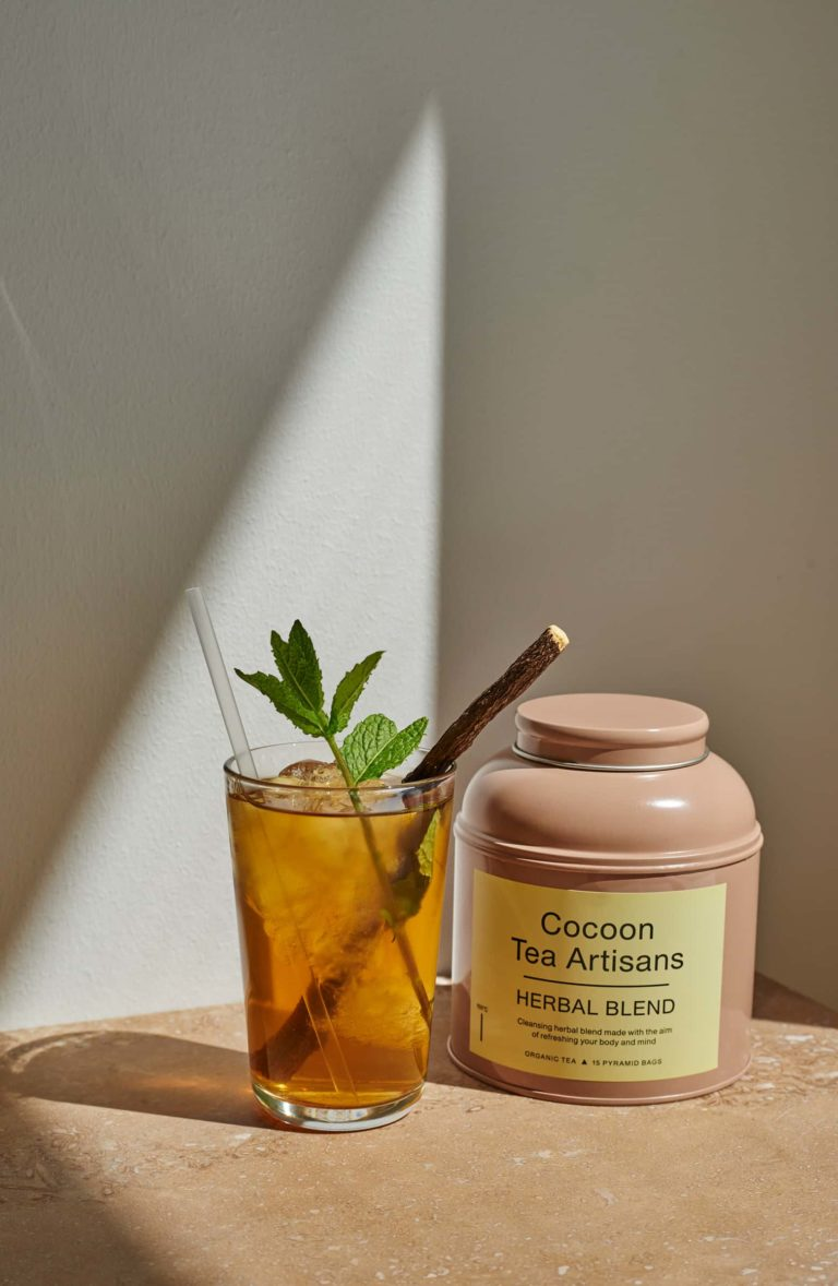 Organic Herbal Blend Tea Big Tea Caddy COCOON TEA ARTISANS $32.00