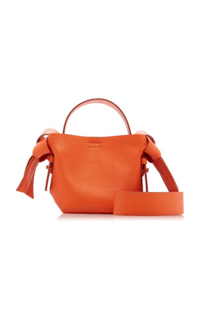 Acne Studios Musubi Mini Leather Shoulder Bag $690
