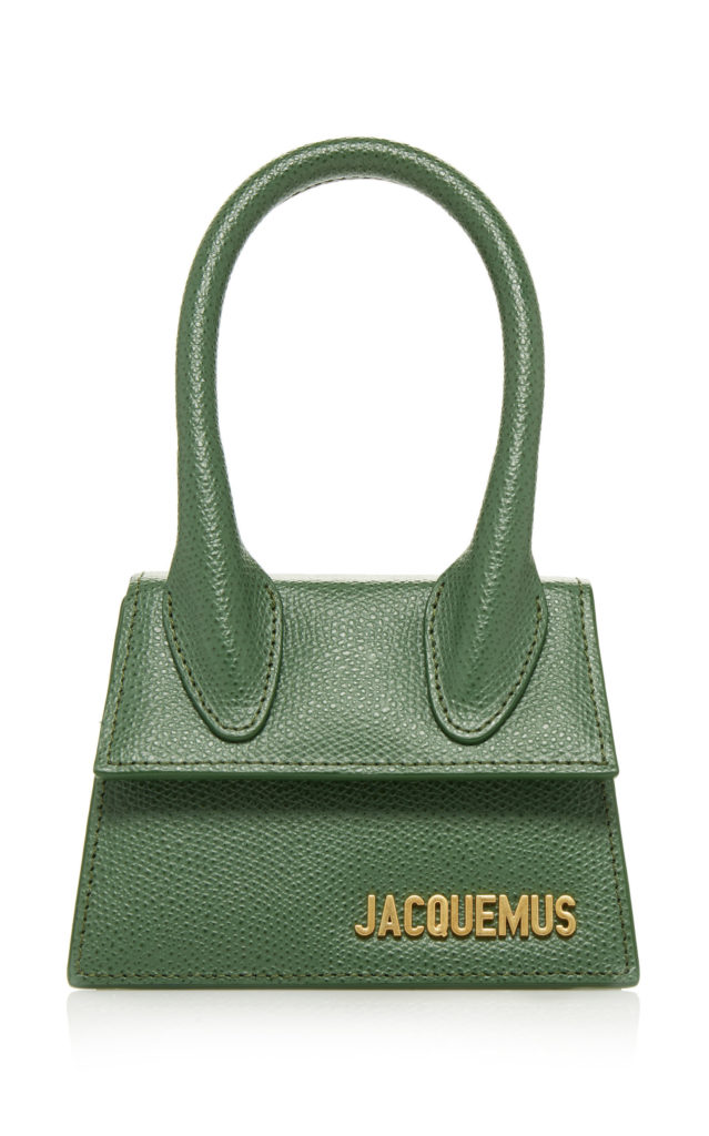 Jacquemus Le Chiquito Mini Leather Bag $535.00