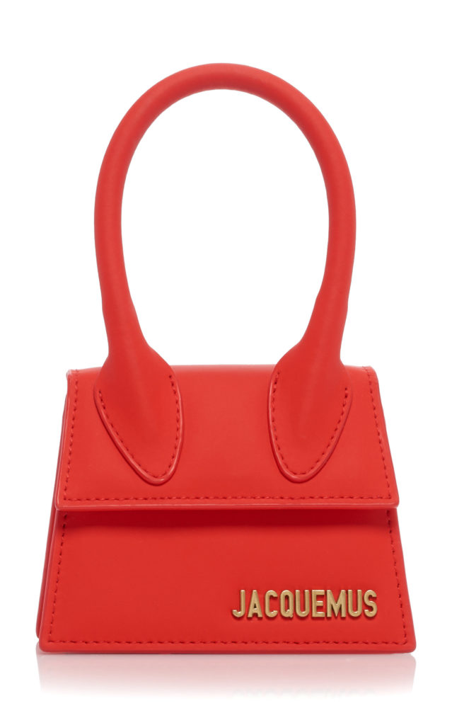 Jacquemus Le Chiquito Matte Leather Bag $550.00