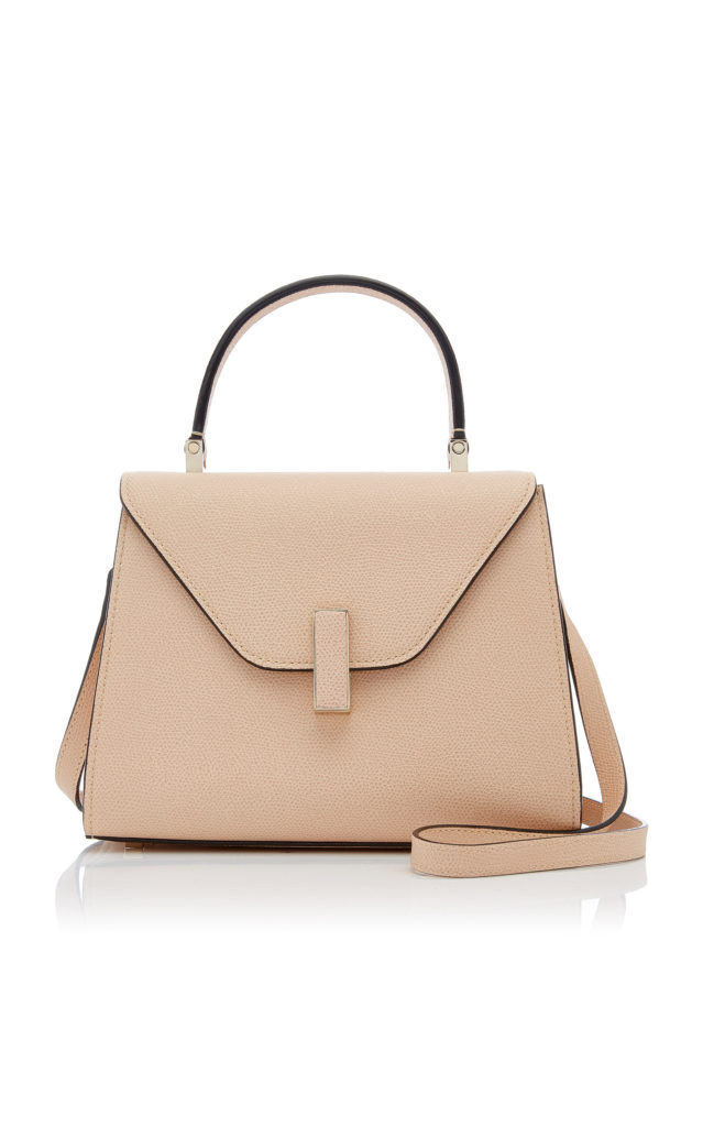 Valextra Iside Mini Leather Bag $2,450.00