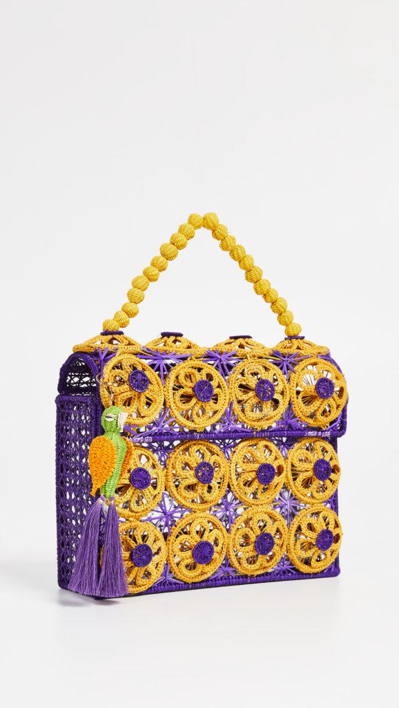 Mercedes Salazar Woven Bag $126.00