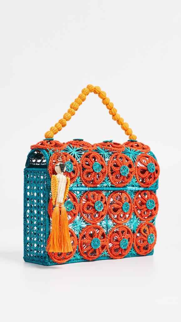 Mercedes Salazar Woven Bag $252.00