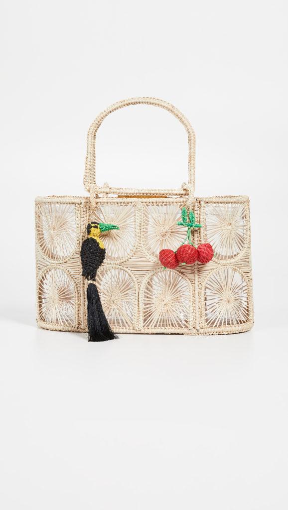 Mercedes Salazar Woven Tote Bag $220.50