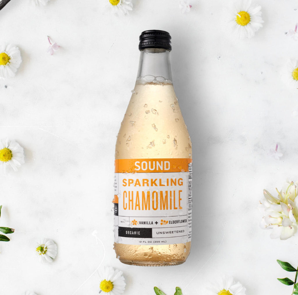 SOUND Organic Sparkling Ready to Drink Chamomile Tea $36.07