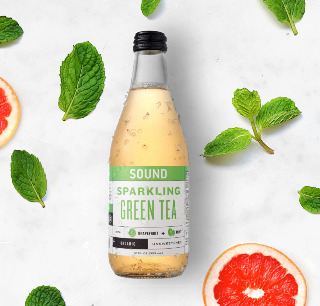 SOUND Organic Sparkling Ready to Drink Green Tea $41.27