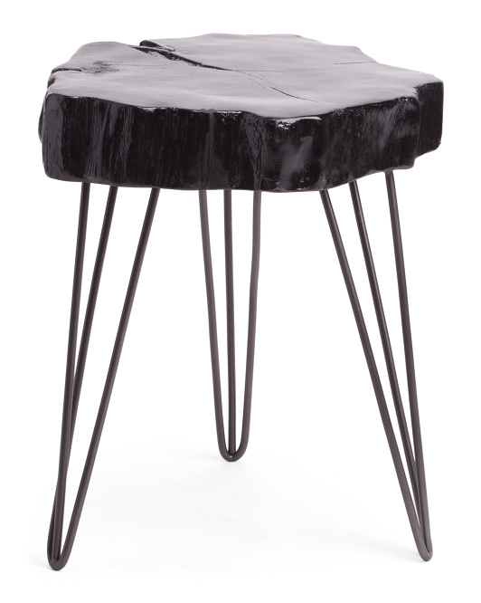 PORT TO PORT Tree Log Stool $59.99