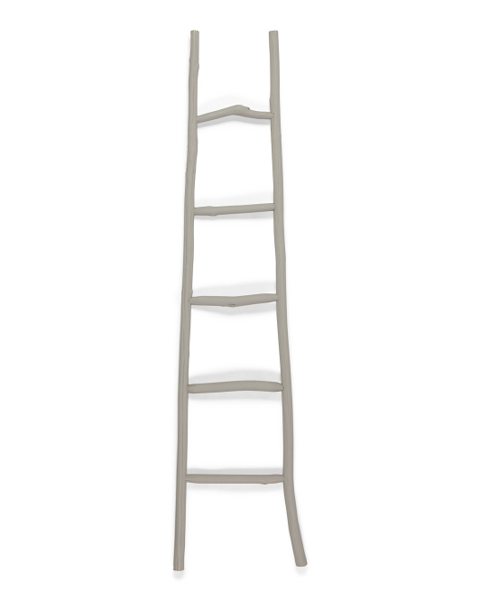 CREATIVE CO-OP Wood Blanket Ladder $39.99