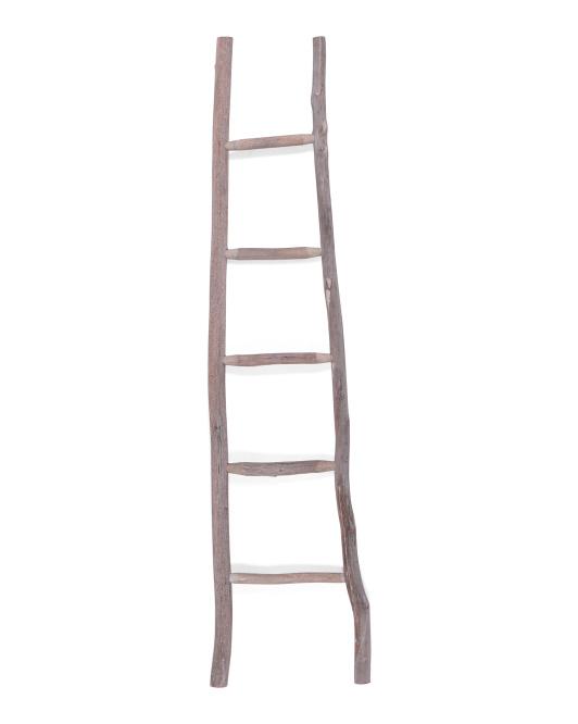 THREE HANDS Wood Blanket Ladder $49.99