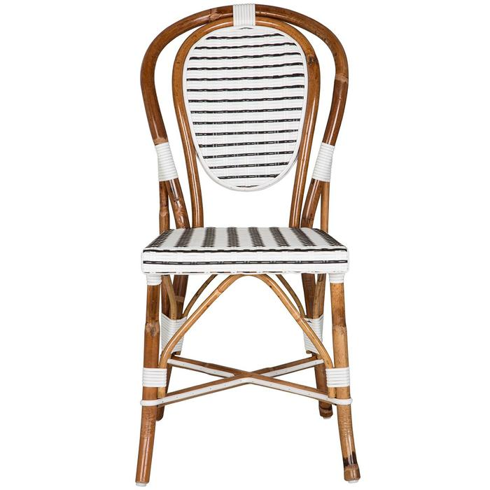 White and Black Mediterranean Bistro Chair $259.95https://fave.co/2O8viHk
