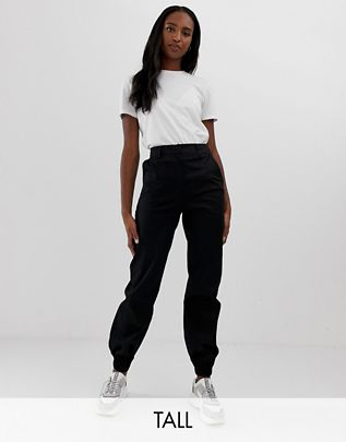COLLUSION Tall cargo pants in black$40.00
