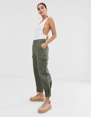 twill utility combat pants $51.00