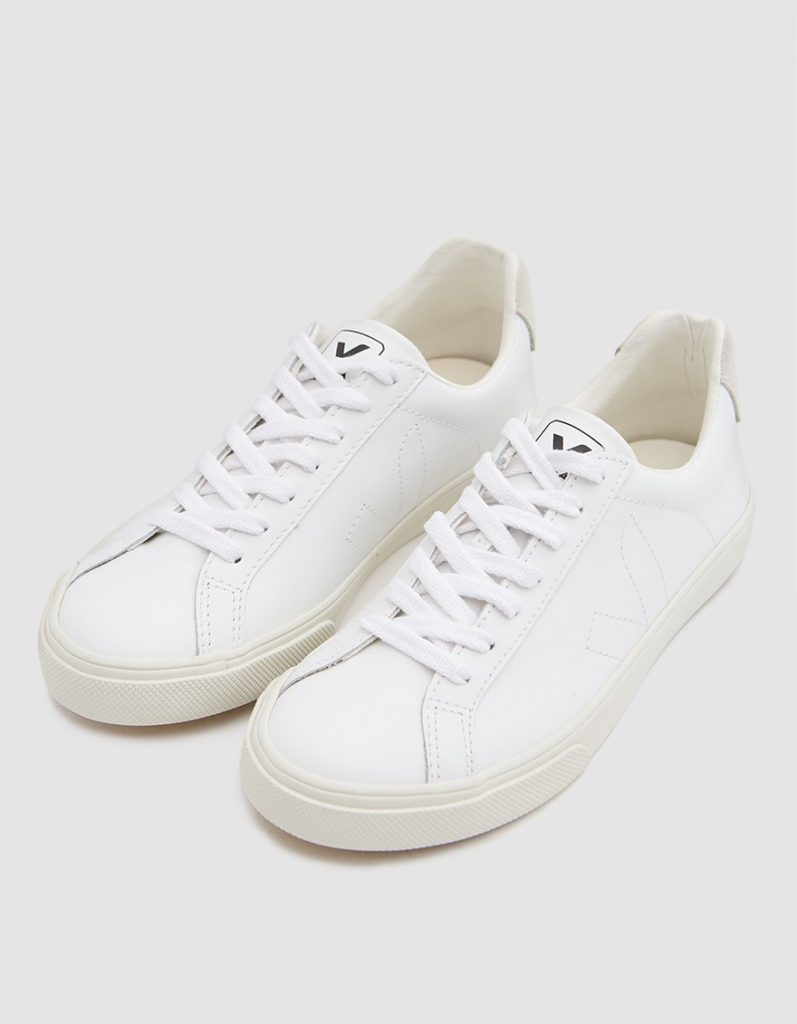 Veja Esplar Leather Sneaker in Extra White $120
