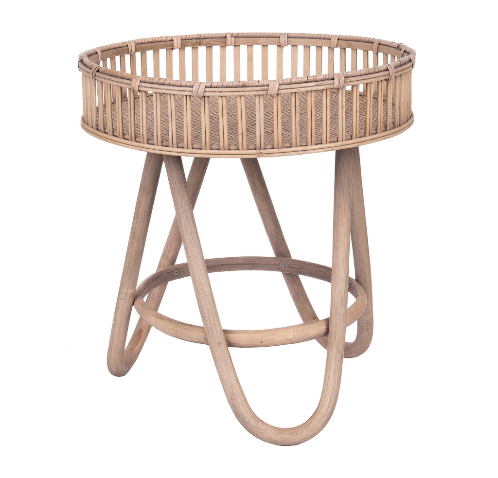 Small Rattan Side Table $99.99