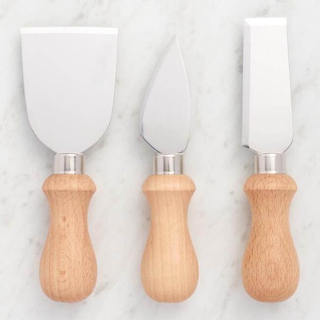 Cheese Knives, Set Of 3 $7.99
