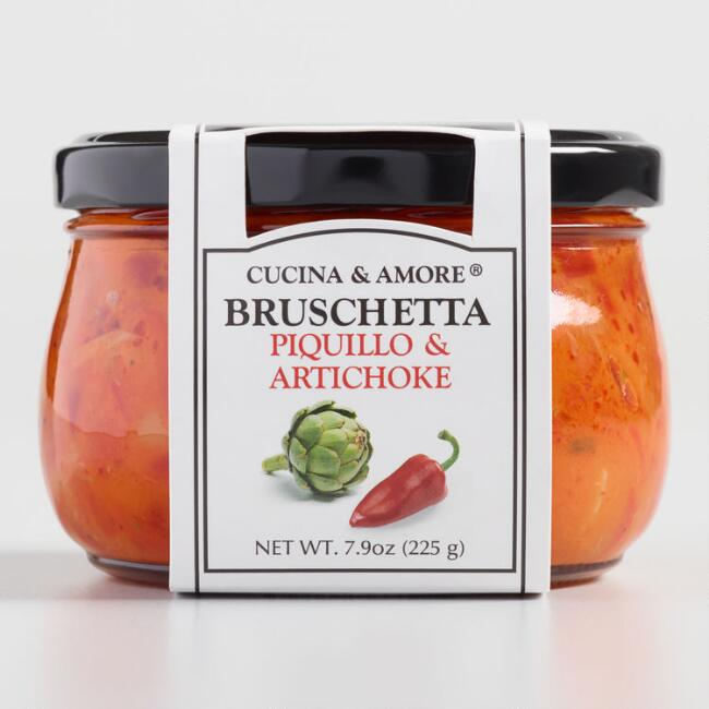 Cucina & Amore Piquillo Pepper Bruschetta, Set Of 6 $20.94